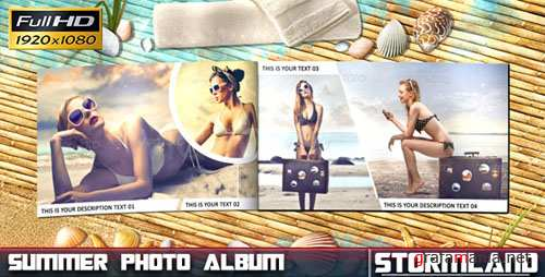 Summer Photo Album - Project for After Effects (Videohive)