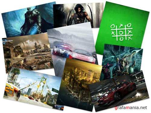 75 Beautiful Games HD Wallpapers (Set 57)