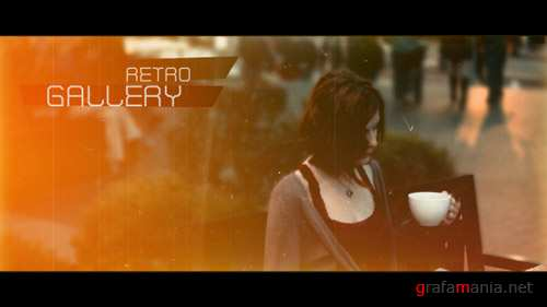 Retro Gallery 5217756 - Project for After Effects (Videohive)