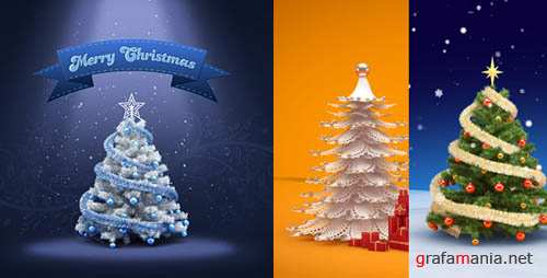 Christmas & New Year Greeting Card Design - Project for After Effects (Videohive)