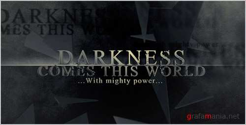 Darkness Falls - Project for After Effects (Videohive)