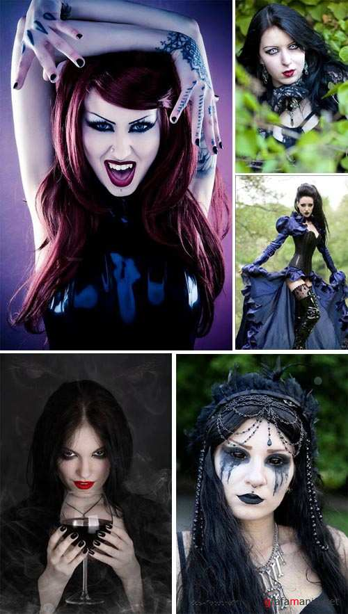 Gothic Girls - Big Photo Gallery