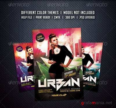GraphicRiver - Urban Party Flyer - 6235768