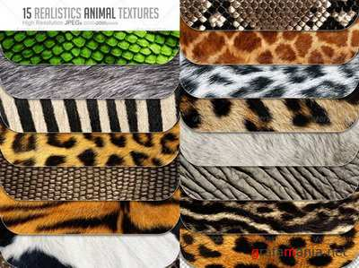 GraphicRiver - 15 Animal Textures Hi-Res - 6548711