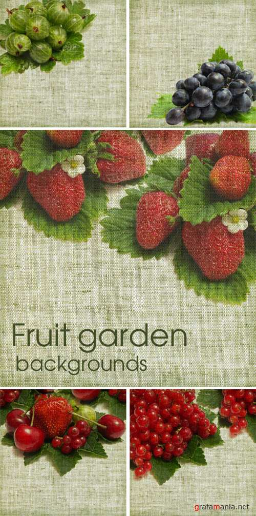 Fruit garden - backgrounds
