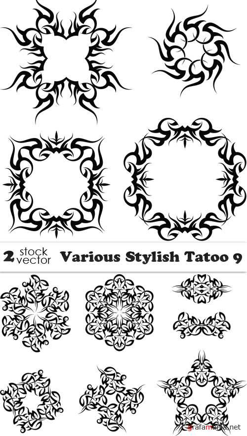 Vectors - Various Stylish Tatoo 9
