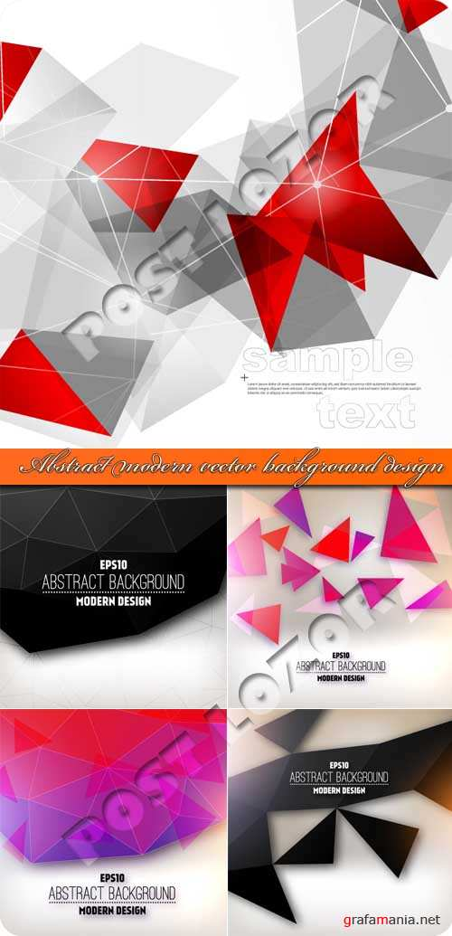 Абстракция современные векторные фоны | Abstract modern vector background design