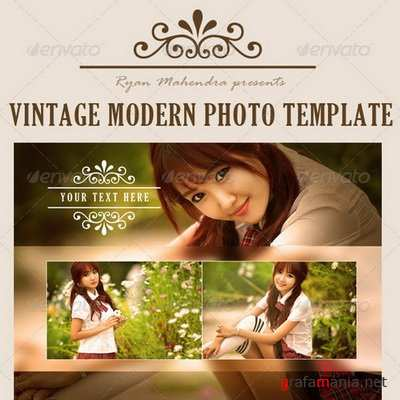GraphicRiver - Vintage Modern Photo Template