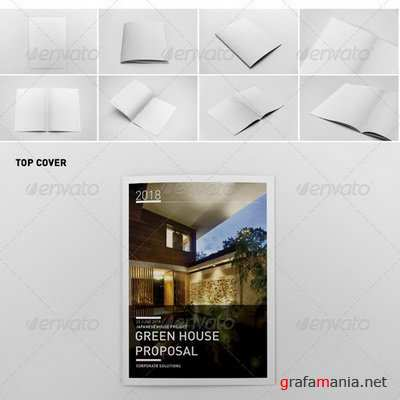 GraphicRiver - Photorealistic Brochure Mock-ups