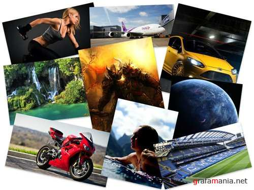 200 Amazing Mixed FullHD Wallpapers (Set 148)