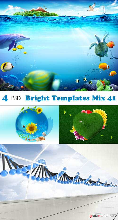 PSD - Bright Templates Mix 41