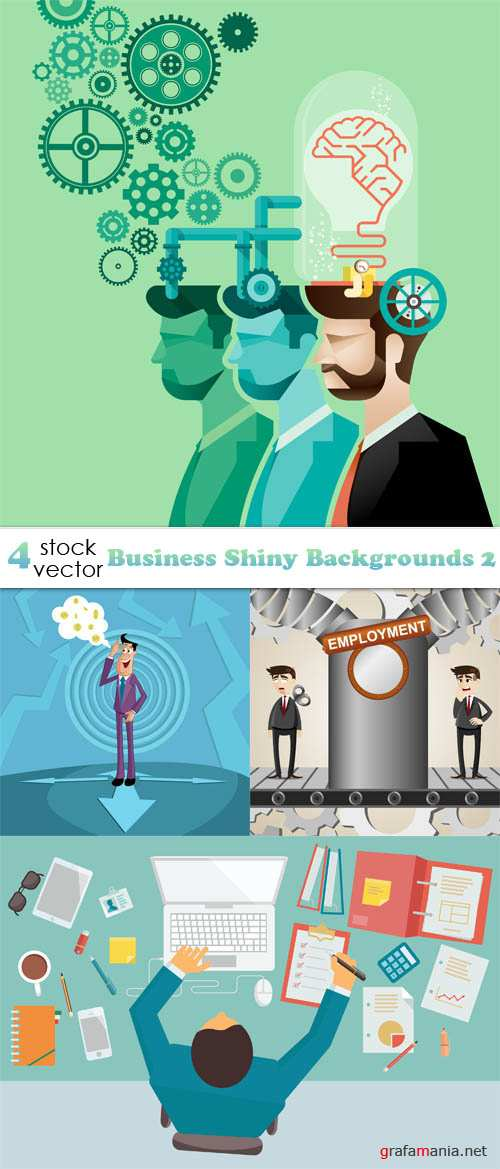 Vectors - Business Shiny Backgrounds 2