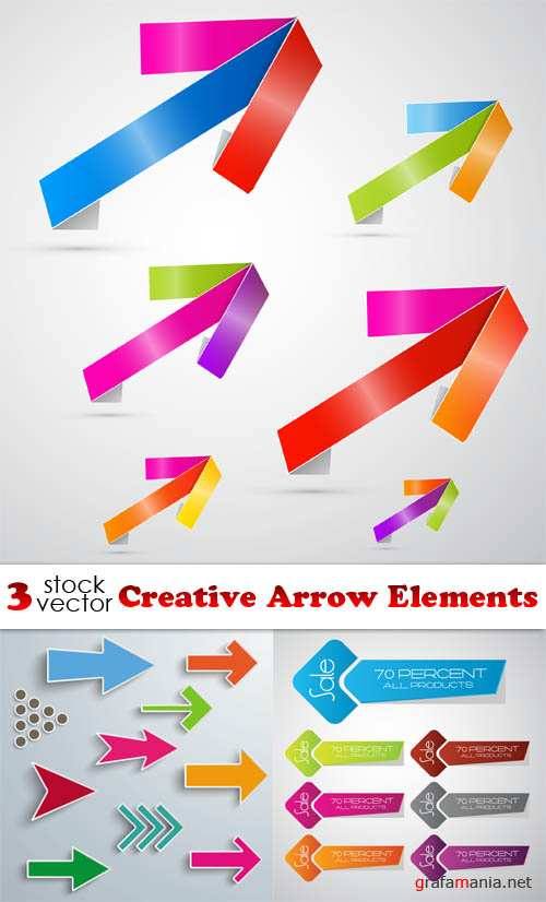 Vectors - Creative Arrow Elements