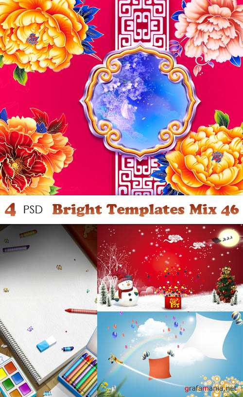 PSD - Bright Templates Mix 46