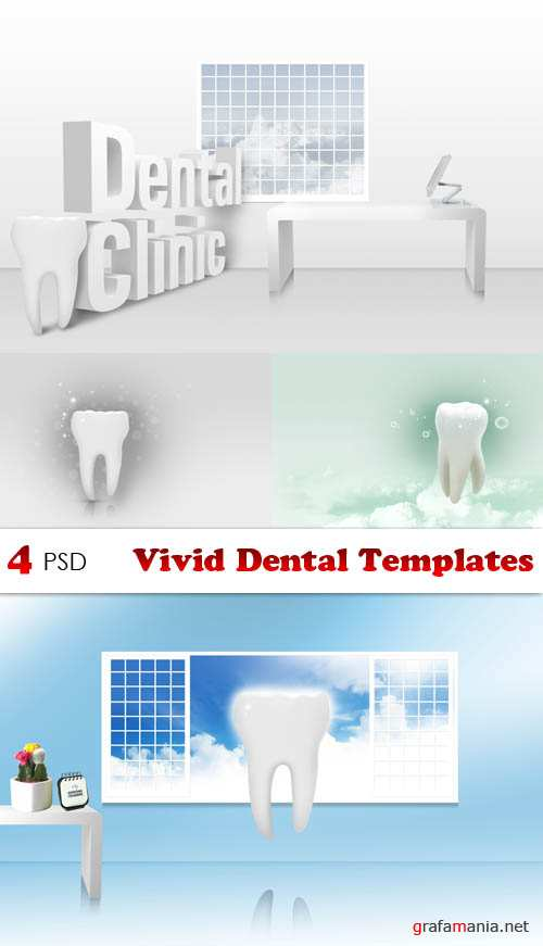 PSD - Vivid Dental Templates