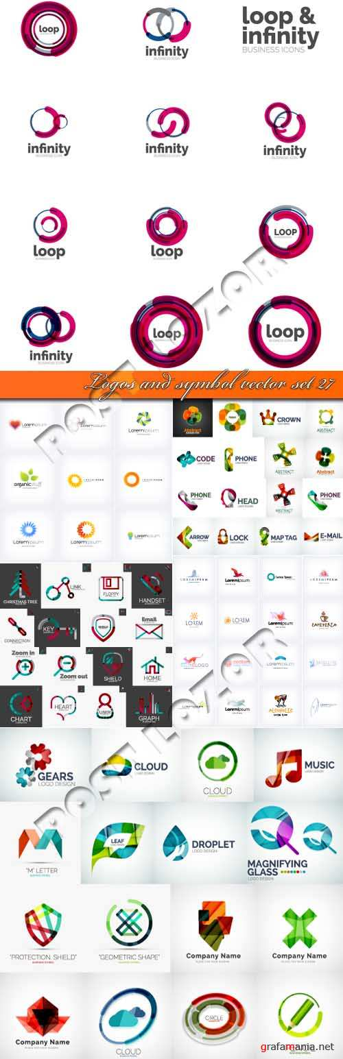 Logos and symbol vector set 27
