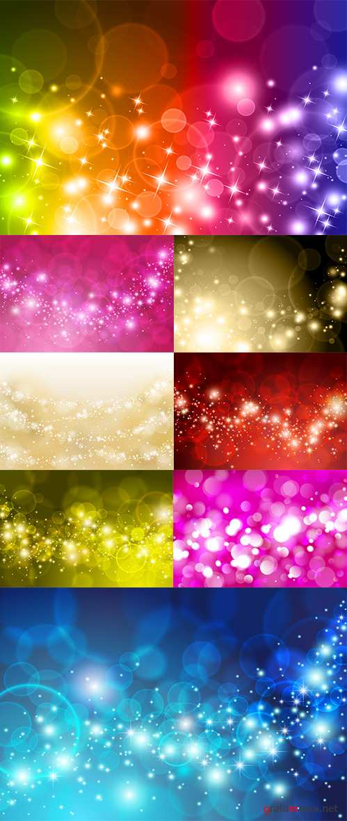 Abstract background with highlights