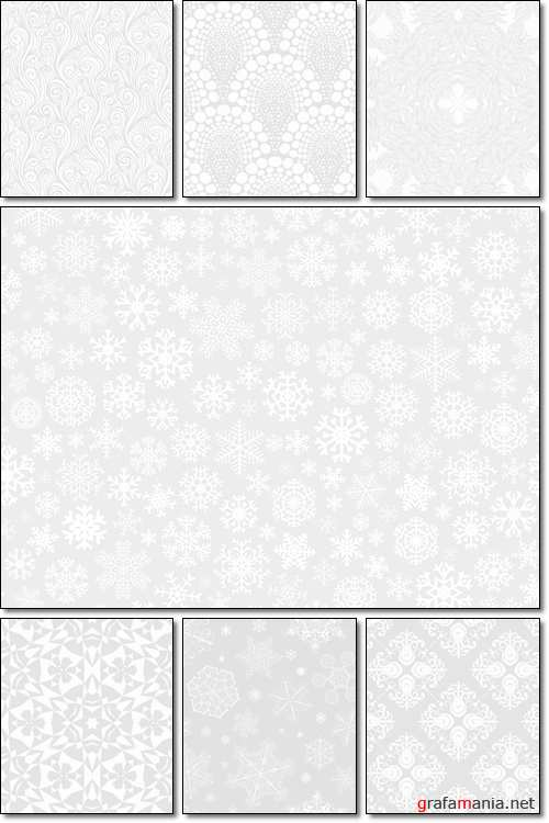 White geometric texture in art deco style - Vector