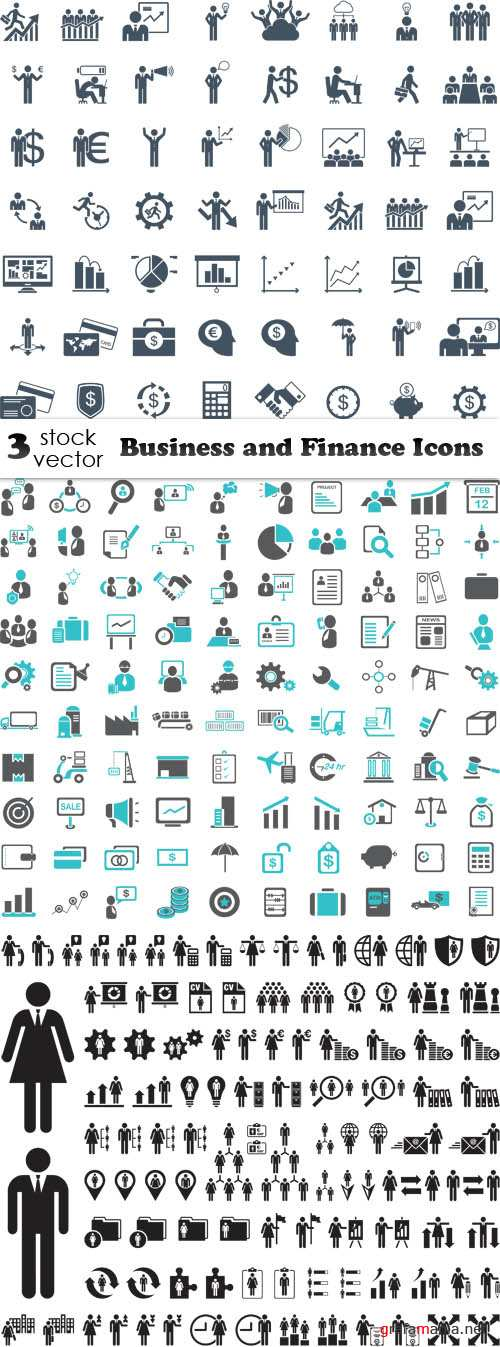 Vectors - Business and Finance Icons
