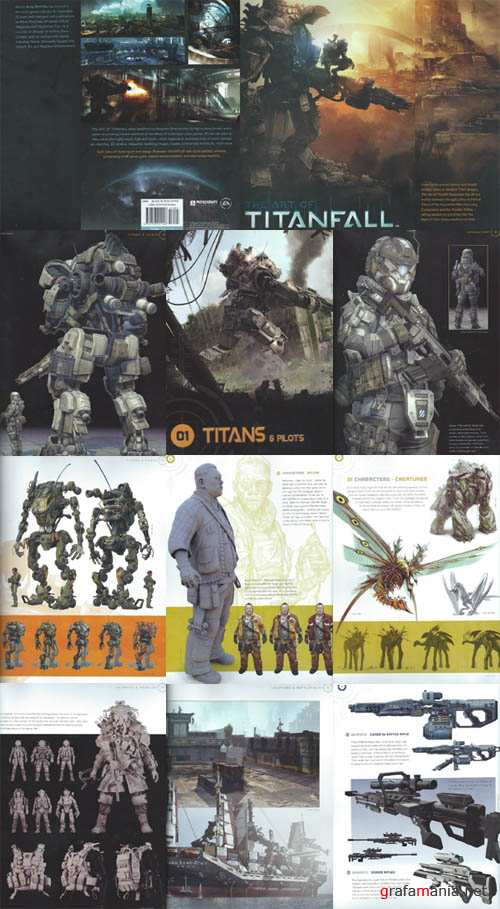 The Art of Titanfall (Artbook)