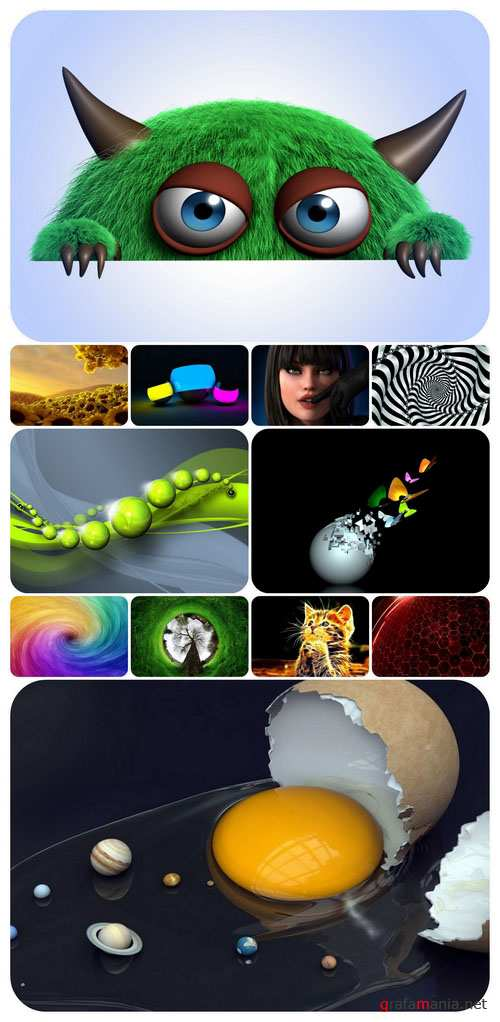 3D graphics wallpaper collection Part 50