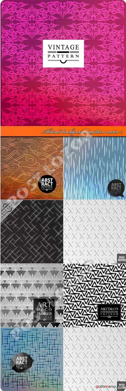 Abstract background pattern vector 2