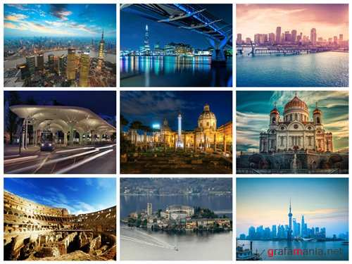 150 Amazing Cityscapes HD Wallpapers (Set 21)