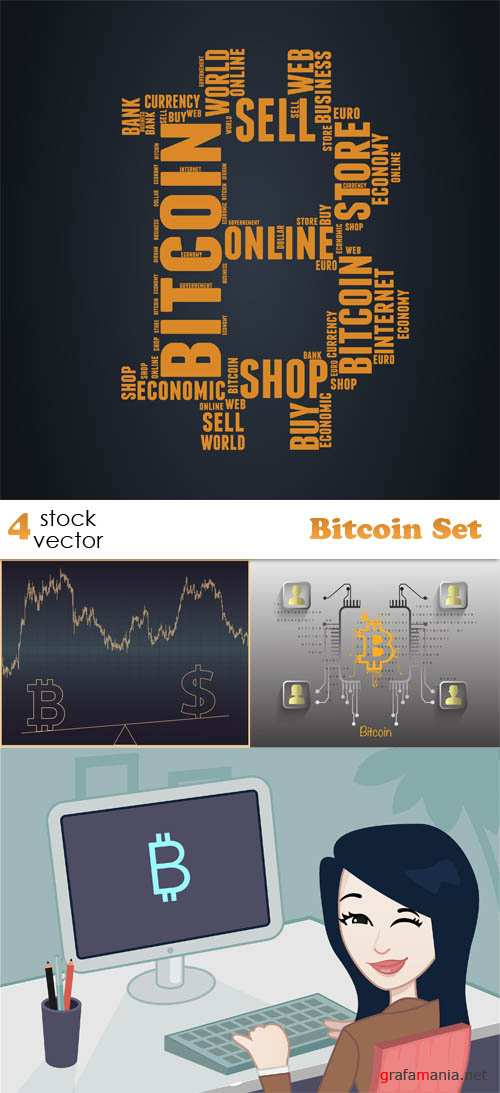 Vectors - Bitcoin Set