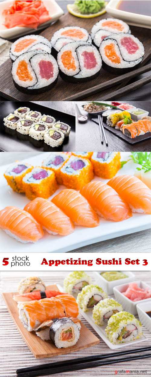 Photos - Appetizing Sushi Set 3