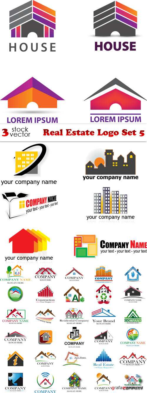 Vectors - Real Estate Logo Set 5