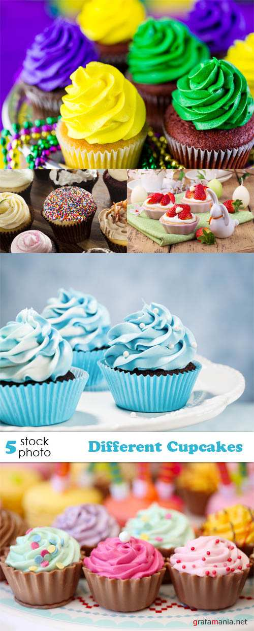 Photos - Different Cupcakes