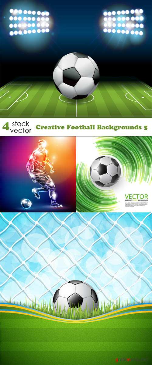 Vectors - Creative Football Backgrounds 5