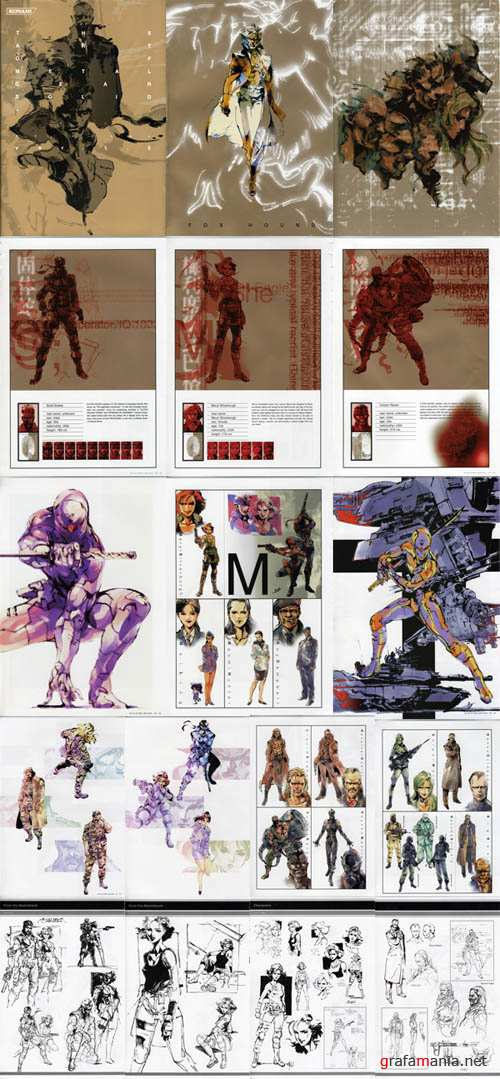THE ART OF METAL GEAR SOLID (Artbook )