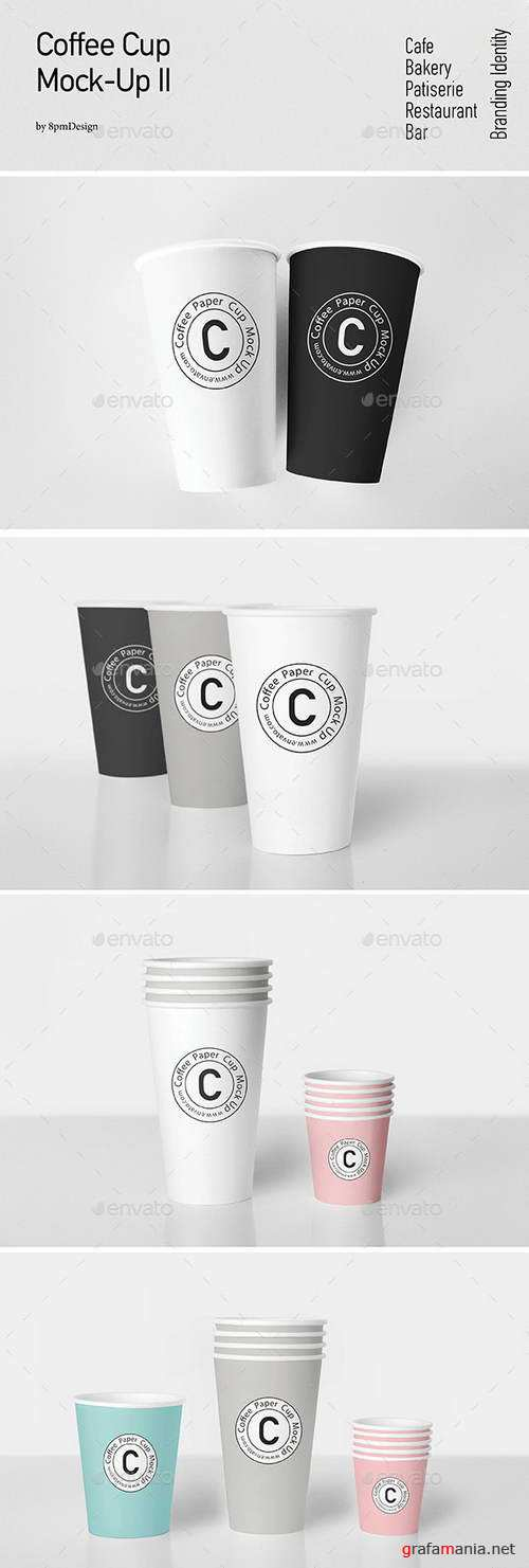 Coffee Cup Mock-Up II - 11757110