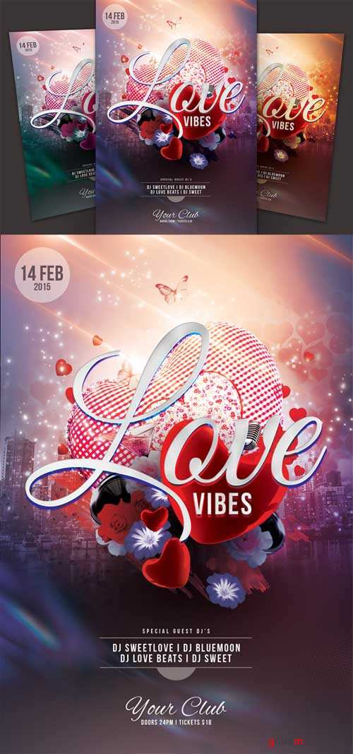 Love Vibes Flyer - 160442