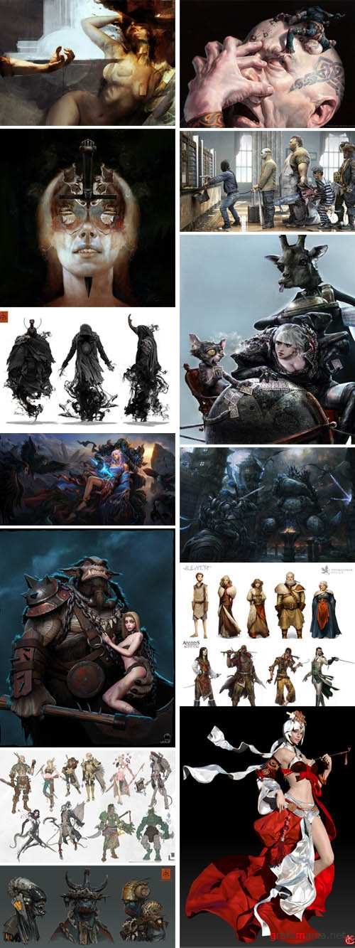 Concept Art  Collection