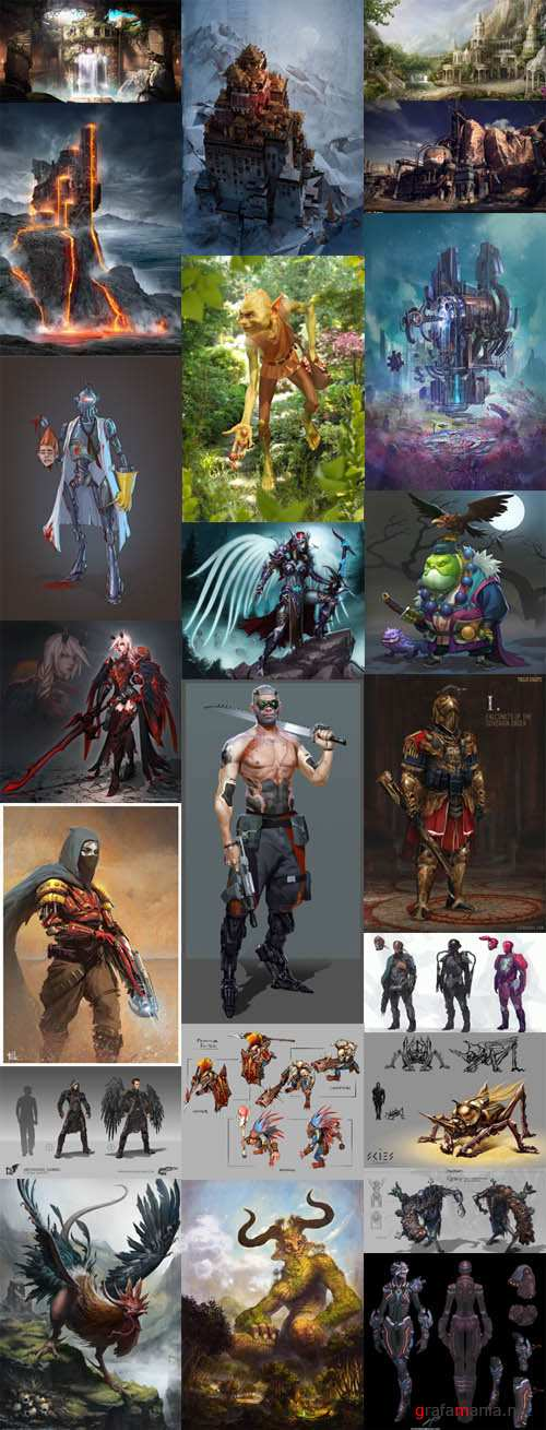 Concept Art  Collection p.2