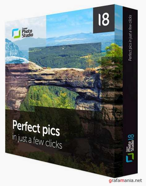 Zoner Photo Studio Professional 18 Build 8  (x86 x64) DC 01.02.2016 RePack by KpoJIuK + Portable