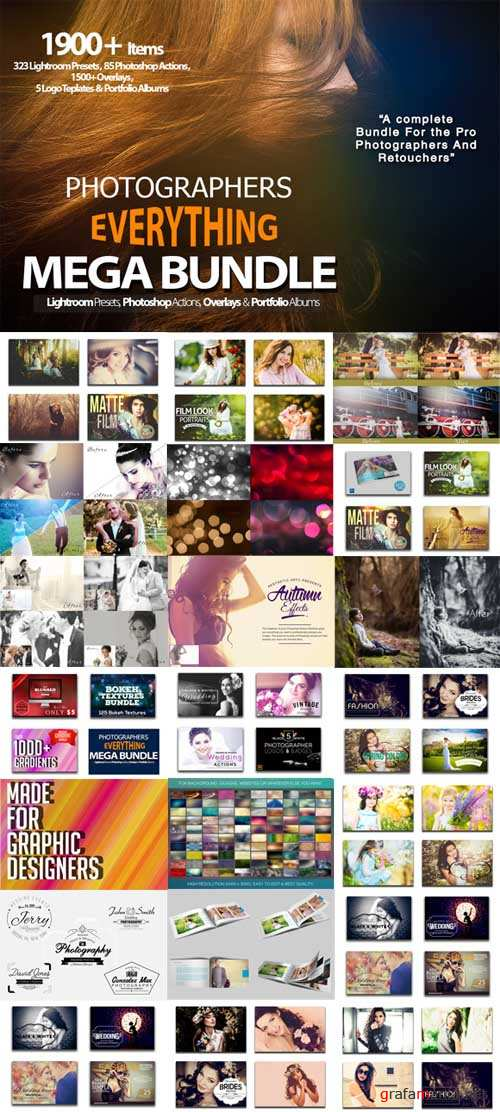 Photographers Everything Mega Bundle - 513263