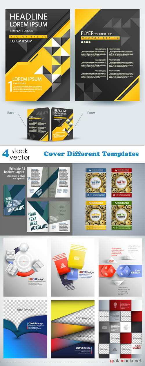 Vectors - Cover Different Templates