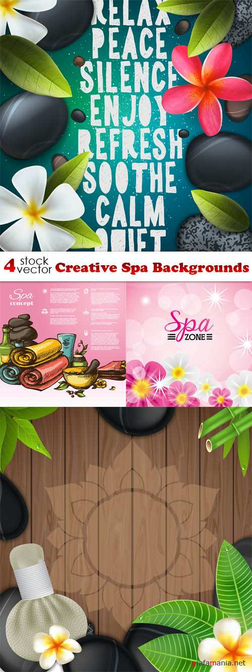 Vectors - Creative Spa Backgrounds