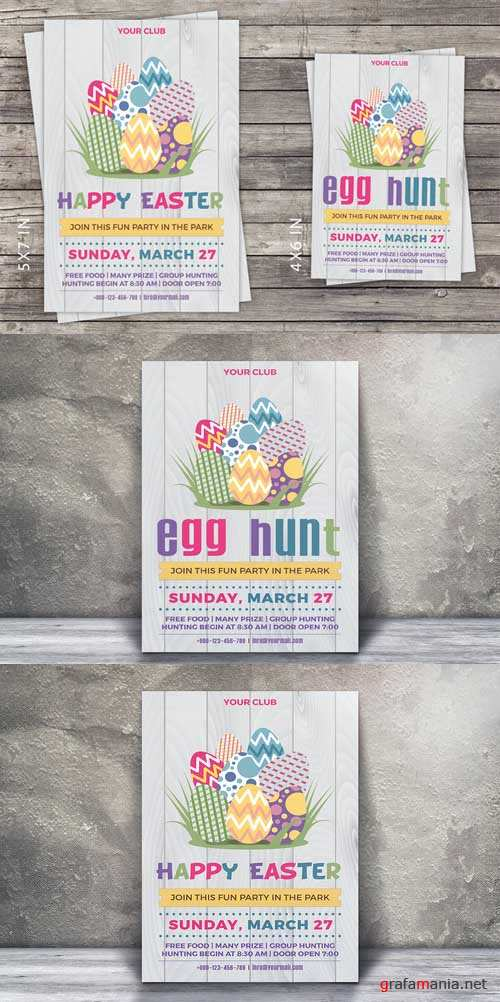 Easter Party Invitation Flyer - 587889