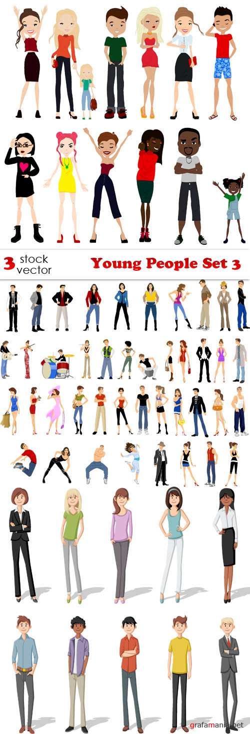 Vectors - Young People Set 3
