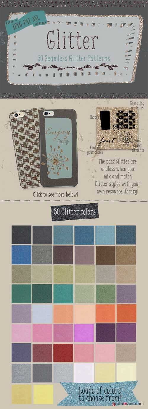 Glitter Pattern Collection 590834
