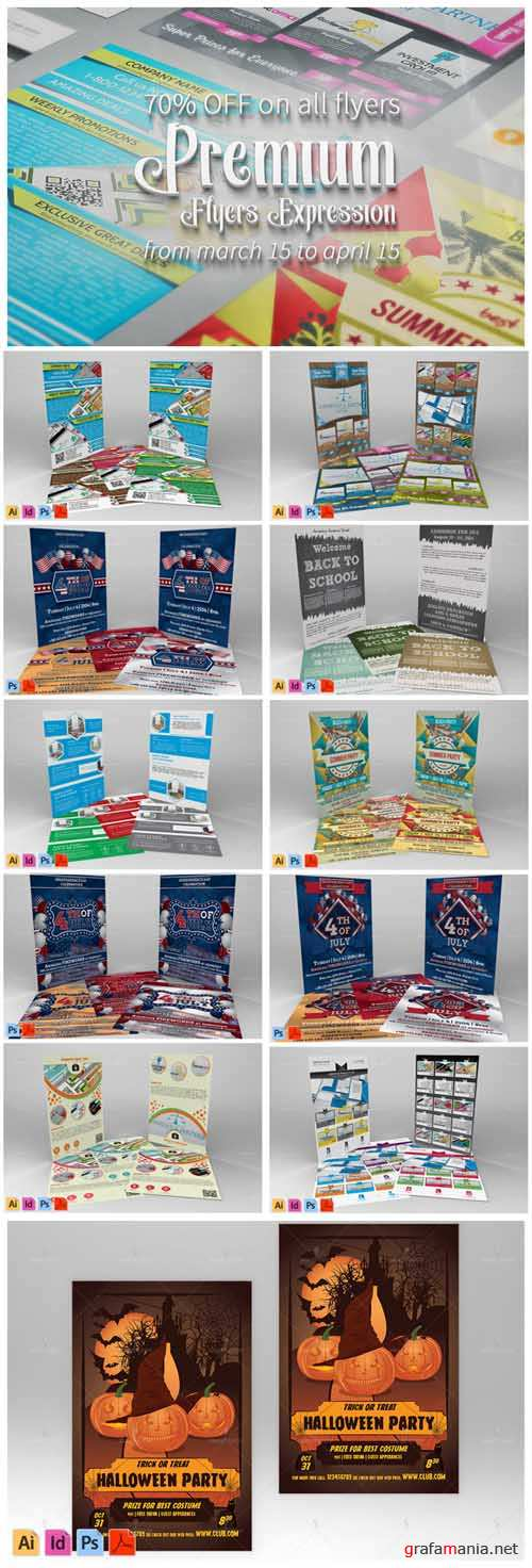 Flyer Expression Bundle - 585856