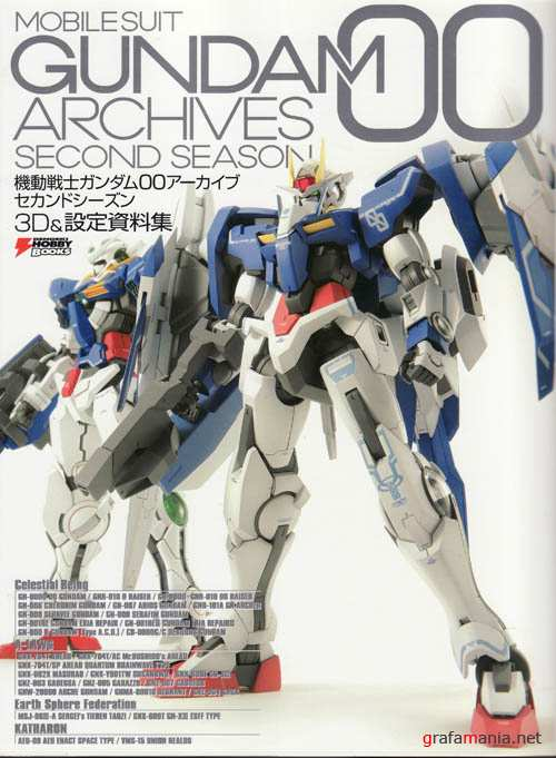 Gundam 00 Archives - Second Season [ Artbook]
