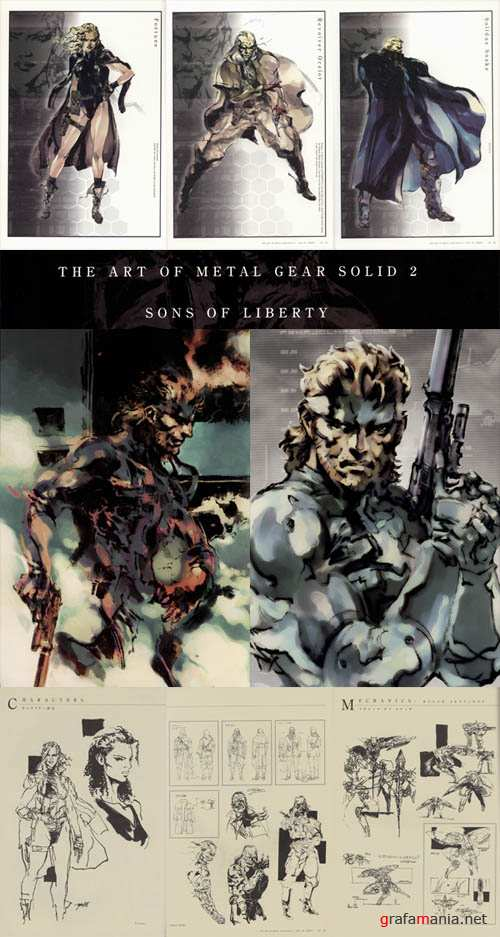 The Art of Metal Gear Solid 2 Sons of Liberty