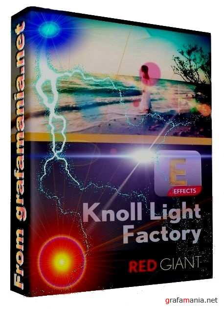 Red Giant Knoll Light Factory 3.2.1 (win x86/x64 bit) plug-in for Photoshop