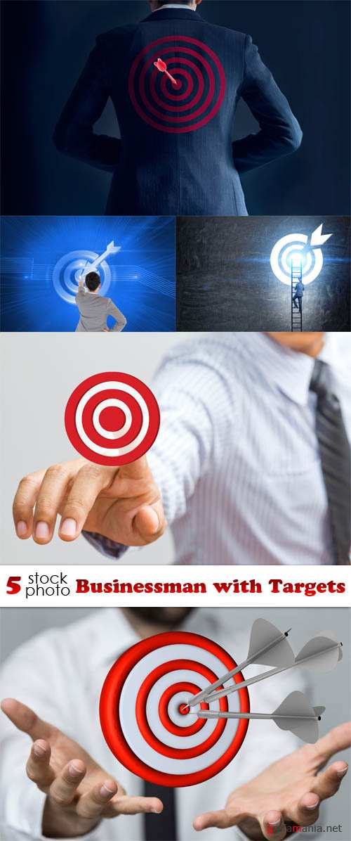 Photos - Businessman with Targets
