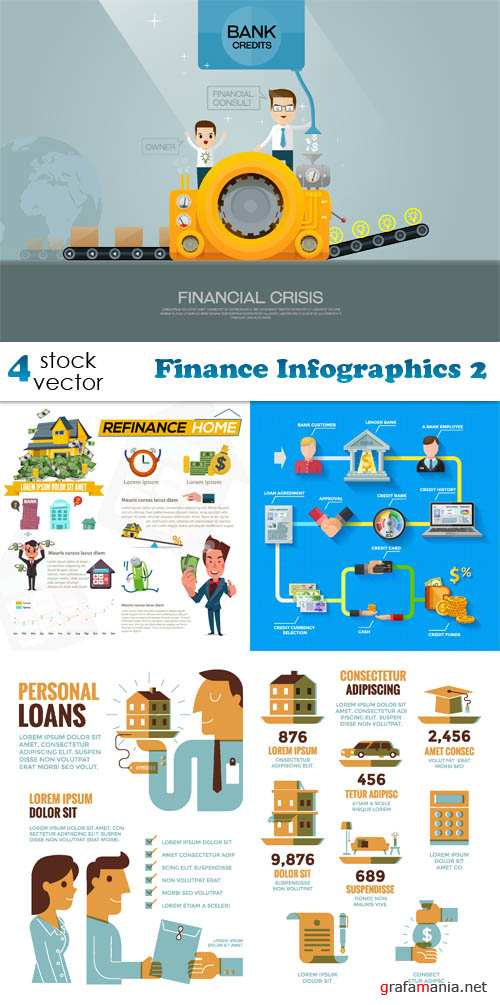 Vectors - Finance Infographics 2